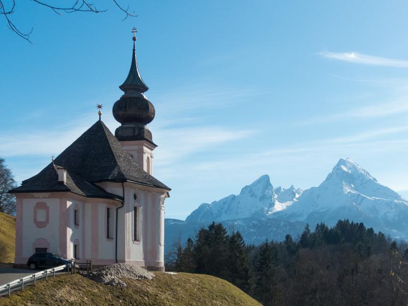 Bild der Wallfahrtskirche Maria Gern